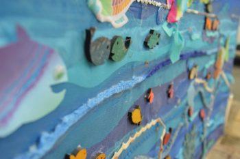 Residents enjoy art